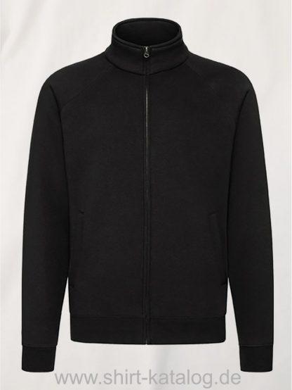 26049-fruit-of-the-loom-premium-sweatjacke-black