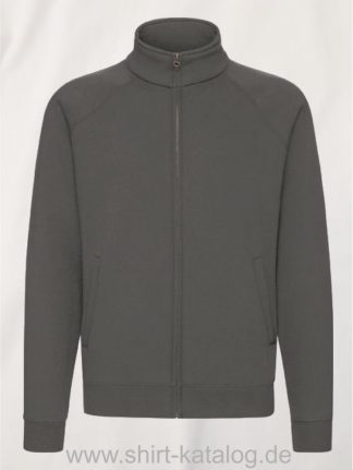 26049-fruit-of-the-loom-premium-sweatjacke-light-graphite
