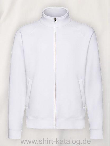 26049-fruit-of-the-loom-premium-sweatjacke-white