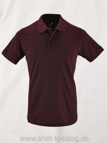 26157-Sols-Mens-Polo-Shirt-Perfect-heather-oxblood