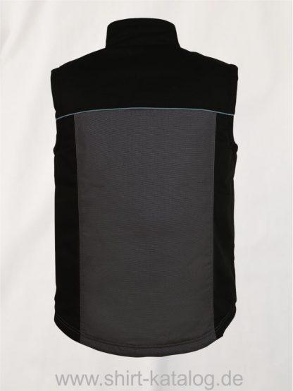27281-Sols-Mens-Workwear-Bodywarmer-Mission-Pro-dark-grey-black-back-view