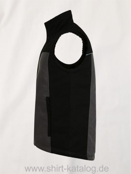 27281-Sols-Mens-Workwear-Bodywarmer-Mission-Pro-dark-grey-black-side-view