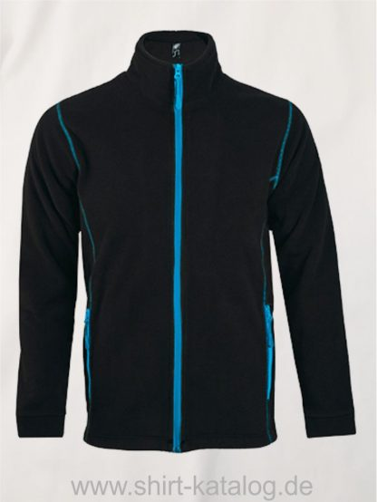 27516-Micro-Fleece-Zipped-Jacket-Nova-Men-black-aqua