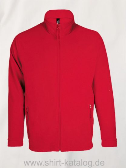 27516-Micro-Fleece-Zipped-Jacket-Nova-Men-red