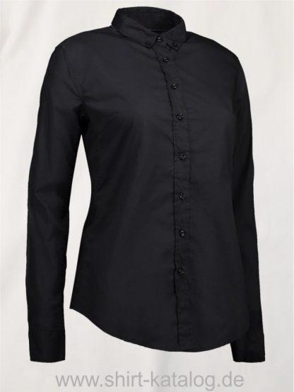 28063-ID-Identity-Casual-Stretch-Bluse-Black