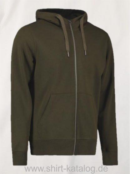 28143-ID-Identity-Core-Full-Zip-Hoodie-0638-Olive-Green