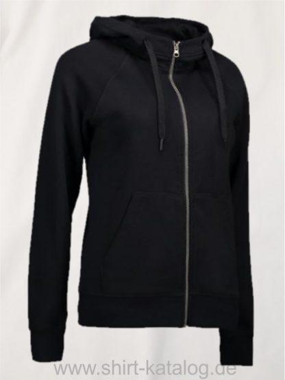 28144-CORE-Full-Zip-Damen-Hoodie-0639-Black