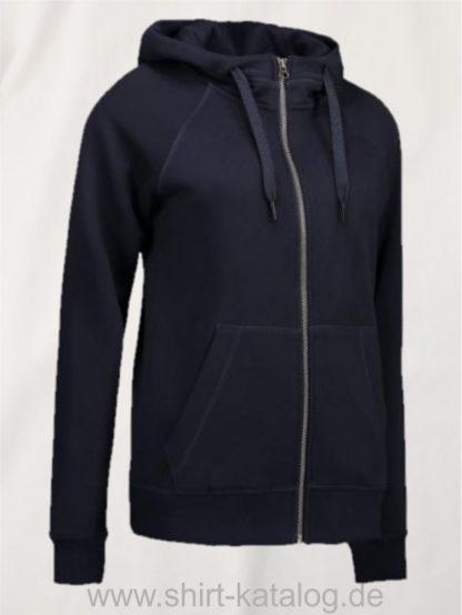 28144-CORE-Full-Zip-Damen-Hoodie-0639-Navy