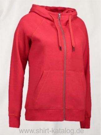 28144-CORE-Full-Zip-Damen-Hoodie-0639-Red