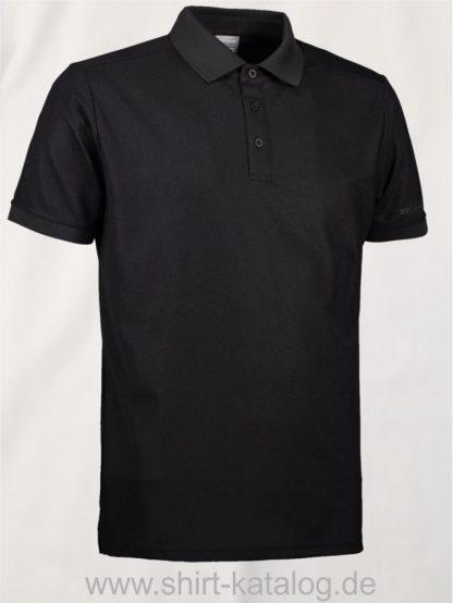 29345-ID-Identity-Man-Functional-Polo-Shirt- G21006-Black