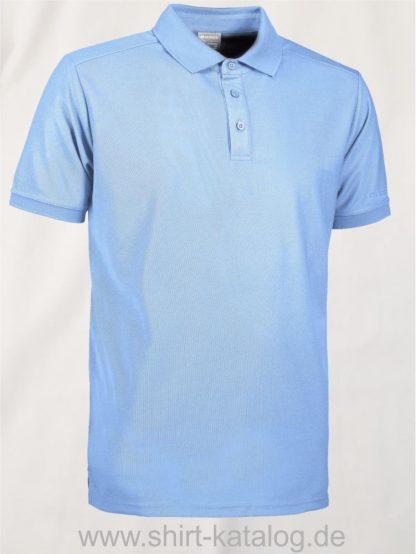 29345-ID-Identity-Man-Functional-Polo-Shirt- G21006-Hellblau