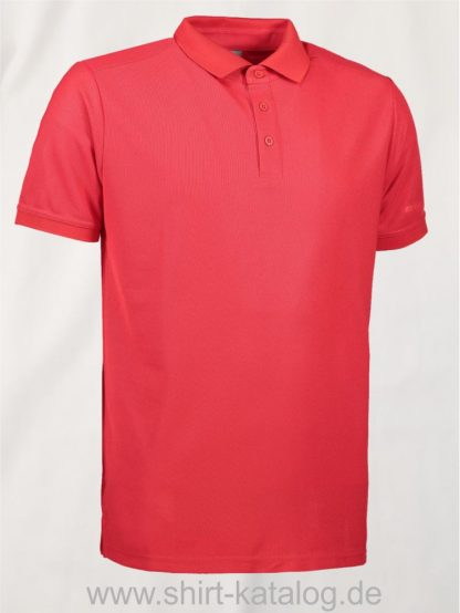 29345-ID-Identity-Man-Functional-Polo-Shirt- G21006-Red