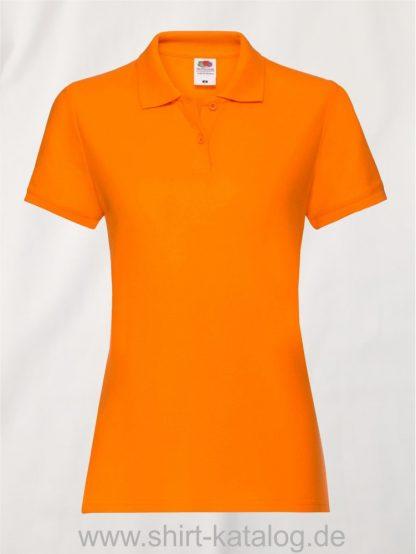 LADIES-PREMIUM-POLO-Orange