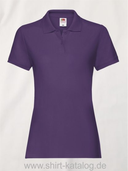 LADIES-PREMIUM-POLO-Purple