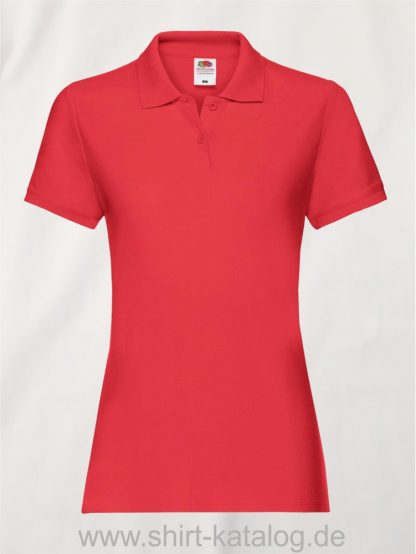 LADIES-PREMIUM-POLO-Red