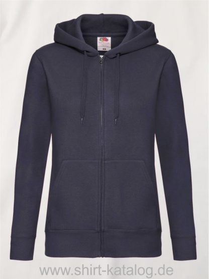 Premium-Hooded-Sweat-Jacket-Lady-Fit-Deep-Navy