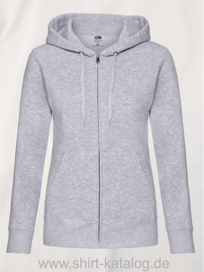 Premium-Hooded-Sweat-Jacket-Lady-Fit-Heather-Grey