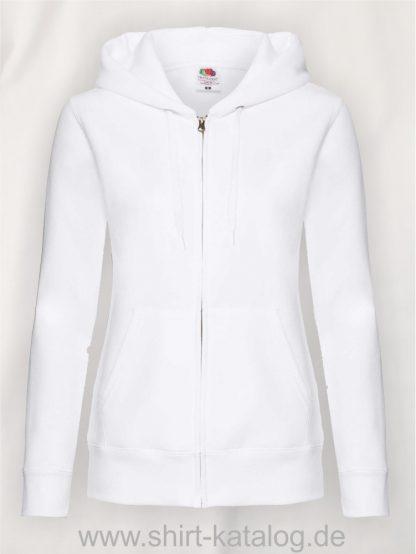 Premium-Hooded-Sweat-Jacket-Lady-Fit-White