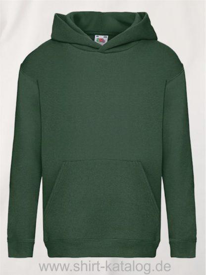 Premium-Hooded-Sweat-Kids-Bottle-Green