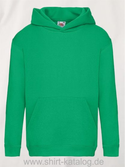 Premium-Hooded-Sweat-Kids-Kelly-Green