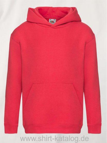 Premium-Hooded-Sweat-Kids-Red