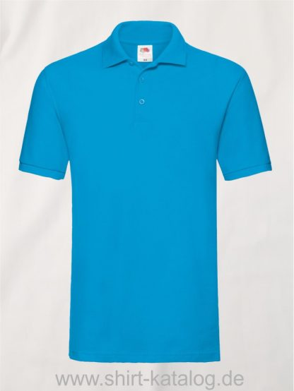 Premium-Polo-Azure-Blue