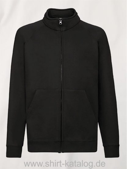 Premium-Sweat-Jacket-Kids-Black