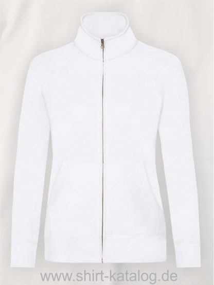 Premium-Sweat-Jacket-Lady-Fit-White