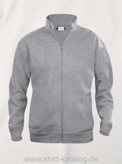 021028-clique-basic-cardigan-junior-graumeliert