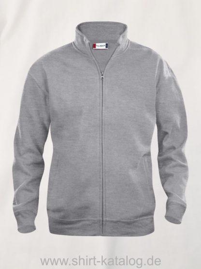 021038-clique-basic-cardigan-graumeliert
