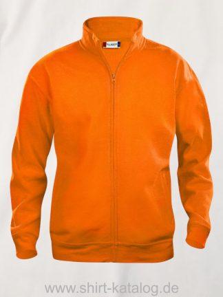 021038-clique-basic-cardigan-leuchtorange