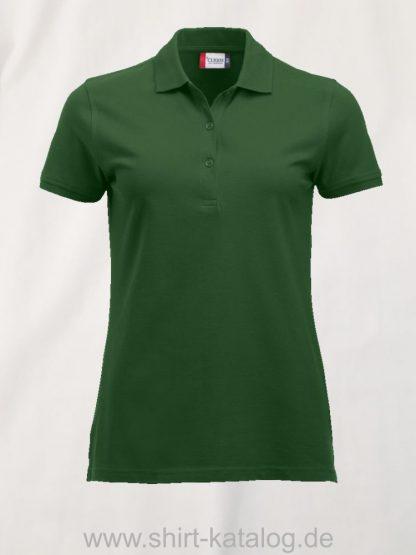 028246-clique-classic-marion-polo-ladies-bottle-green