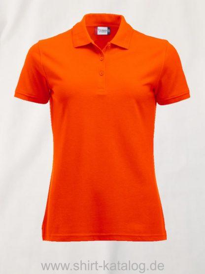 028251-clique-manhatten-polo-ladies-visibility-orange