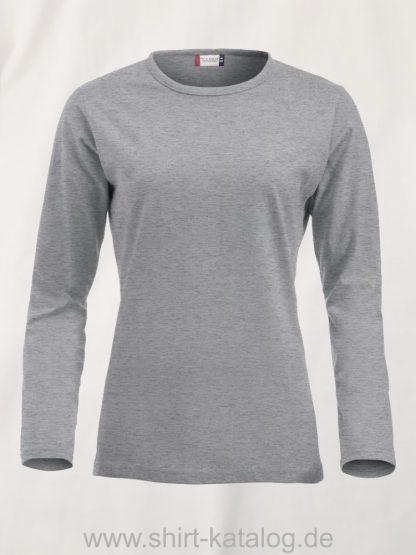 029330-clique-fashion-t-langarm-ladies-graumeliert