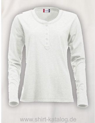 029431-clique-orlando-langarm-t-ladies-stone-white
