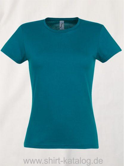 10128-Sols-Ladies-T-Shirt-Miss-Duck-Blue