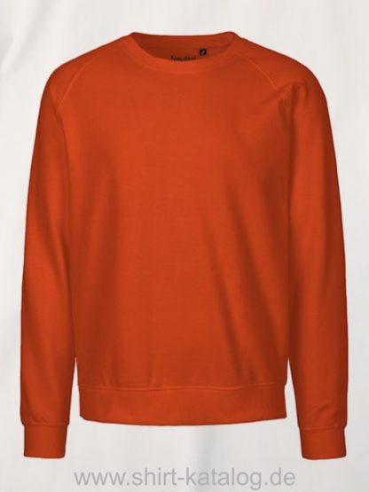 11138-neutral-sweatshirt-unisex-orange