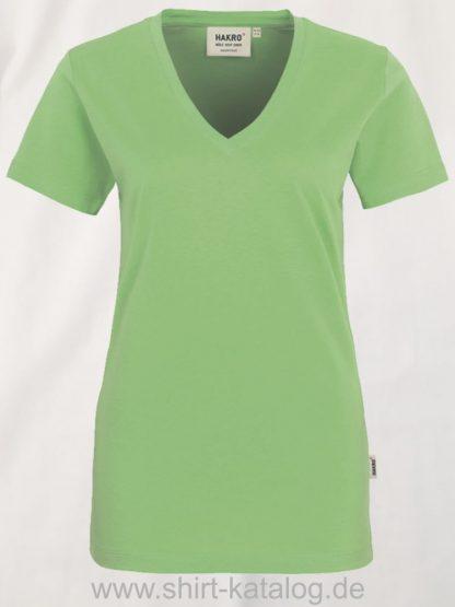 15892-hakro-women-v-shirt-classic-126-apple-green
