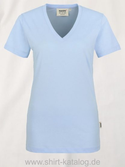 15892-hakro-women-v-shirt-classic-126-ice-blue
