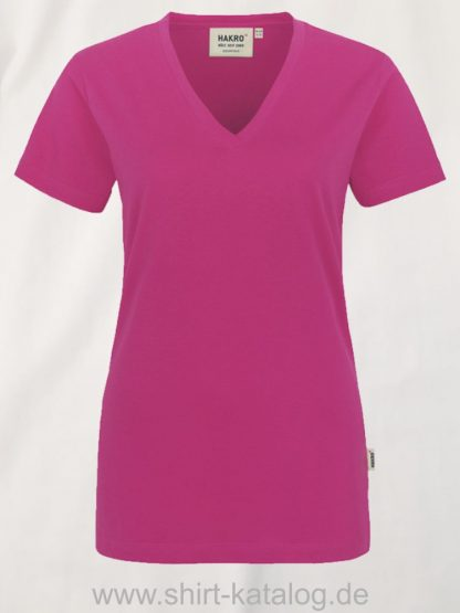 15892-hakro-women-v-shirt-classic-126-magenta