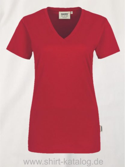 15892-hakro-women-v-shirt-classic-126-rot