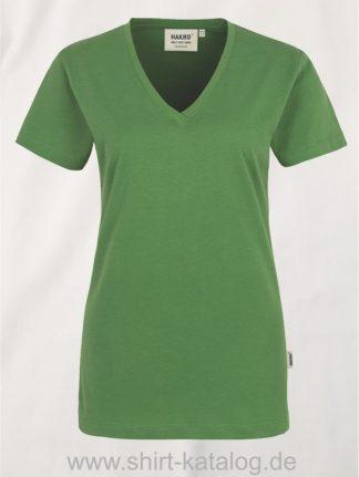 15892-hakro-women-v-shirt-classic-126-wasabi
