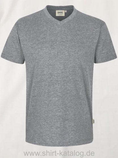 15895-hakro-v-shirt-classic-226-graumeliert