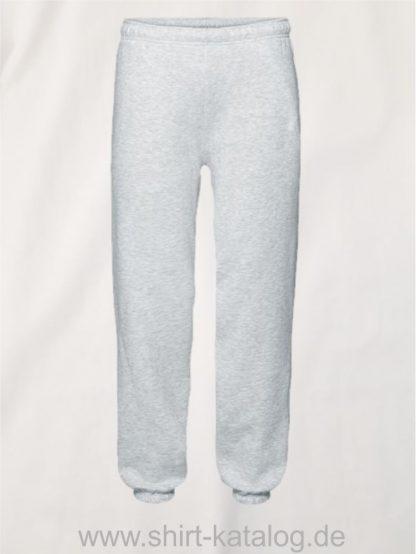 23336-Fruit-of-the-Loom-Premium-Elasticated-Cuff-Jog-Pants-Heather-Grey