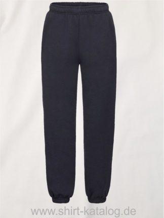23336-Fruit-of-the-Loom-Premium-Elasticated-Cuff-Jog-Pants-Kids-Deep-Navy