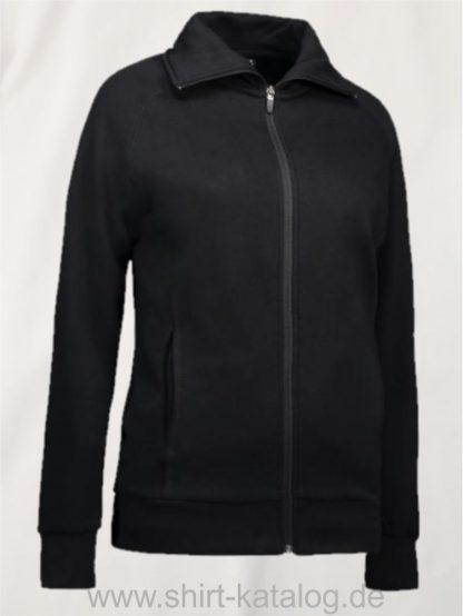 24759-Sweatshirtjacke-0624-Black