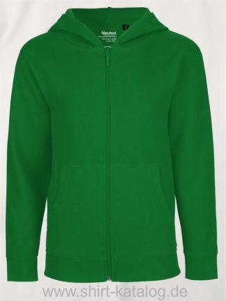 Kids-Zip-Hoodie-Green-NE13301