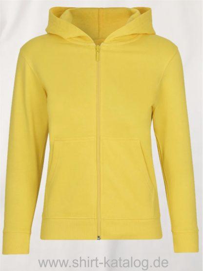 Kids-Zip-Hoodie-Yellow-NE13301