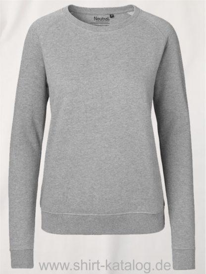 Ladies-Sweatshirt-Sport-Grey-NE83001