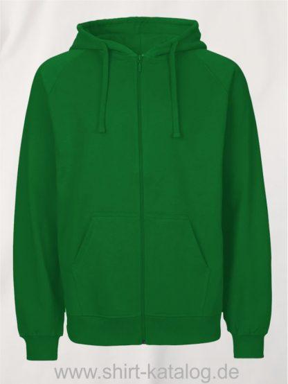 Mens-Zip-Hoodie-Green-NE63301